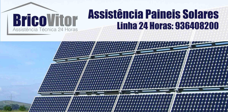 Assistência Painéis Solares Vizela – Manutenção – Reparação